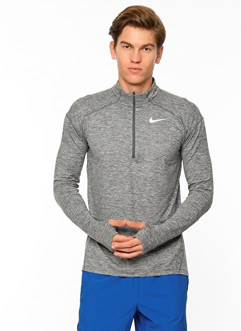 Nike Uzun Kollu Sweatshirt Gri
